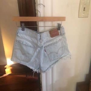 Levi's Shorts - Women's Levi's Denim Cut-Off Shorts